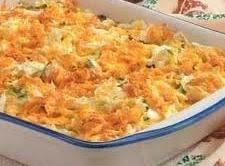Jewel's Cheddar Cabbage Casserole