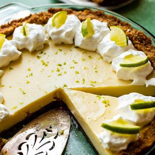 Key Lime Pie with Macadamia Nut Crust Recipe