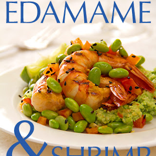 Very, Very Green Edamame and Shrimp Salad
