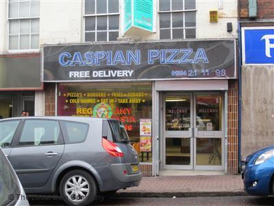 Caspian Pizza On High Street Pizza Takeaway In Dudley Dy1