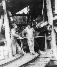 Photo: Ingelsgruvan-laven 1941, Hjalmar Bergdahl Stråssa , Karl Karlsson Stråssa