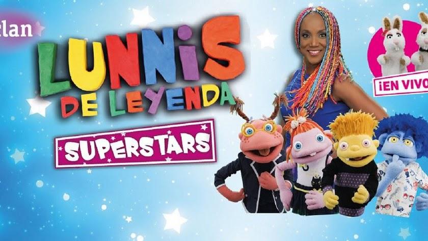 Los Lunnis de Leyenda Superstars llegan al Auditorio Maestro Padilla en Navidad.
