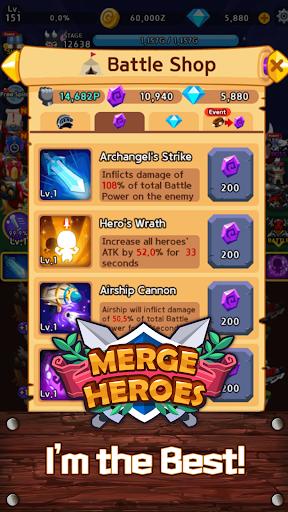 Merge Heroes Frontier: Casual RPG Online screenshots apkshin 21