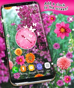 Autumn Flowers Live Wallpaper - náhled