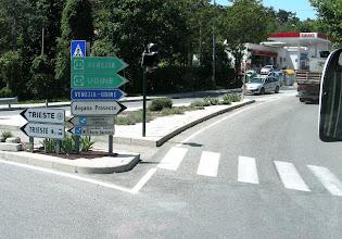 Photo: 002 Ljublijanasta jatkoimme Triesteen