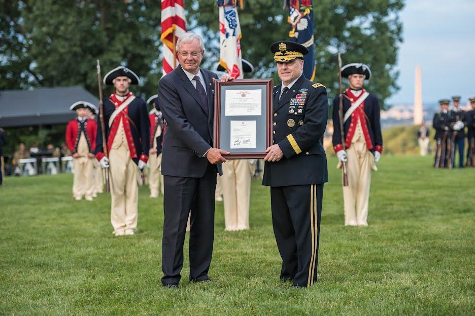 US Army Recognizes RISD Architect