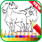 Coloring Book Spirit Stallion icon