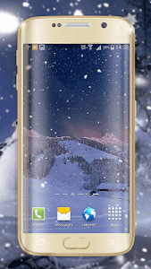 Winter Night Live Wallpaper screenshot 2