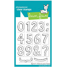 Lawn Fawn Clear Stamps 3X4 - Quinns 123s
