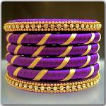 Silk Thread Bangles Design Icon