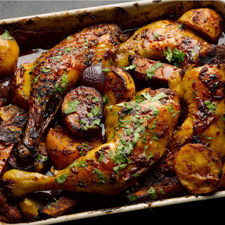 Sweet and smoky Mexican chicken.