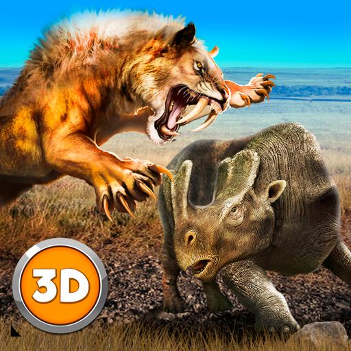 Sabertooth Tiger Family Sim 3D