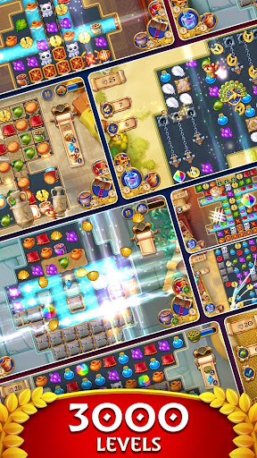 Jewels of Rome: Match gems to restore the city modavailable screenshots 6