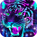 Galaxy Tiger Live Wallpapers icon