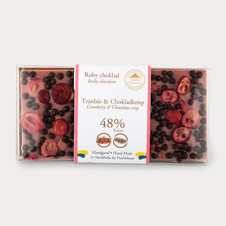 Ruby choklad - Tranbär & Chokladkrisp