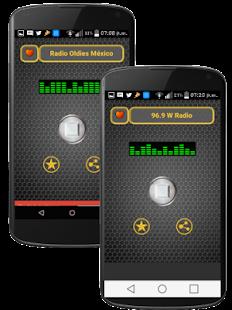 Estaciones de Radio FM y AM de la CDMX Mexico D.F. - náhled