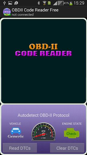 OBDII Code Reader Free