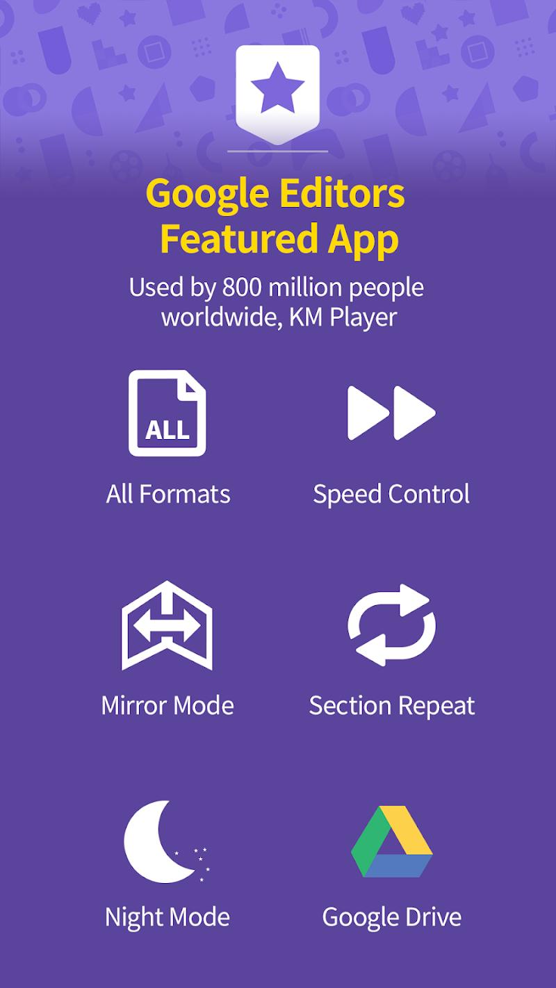 Video Player HD All formats & codecs - km player Screenshot 2