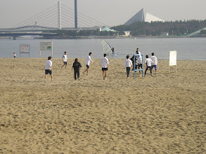 Photo: 白熱の浜サッカー