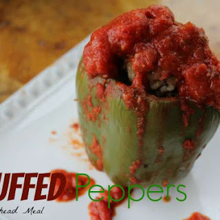 Stuffed Peppers Recipe - Make Ahead Meal