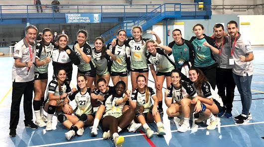 BM Roquetas Bahía de Almería recupera sensaciones con una contundente victoria