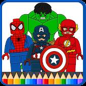 Tải LEGO Superheros Coloring Game APK
