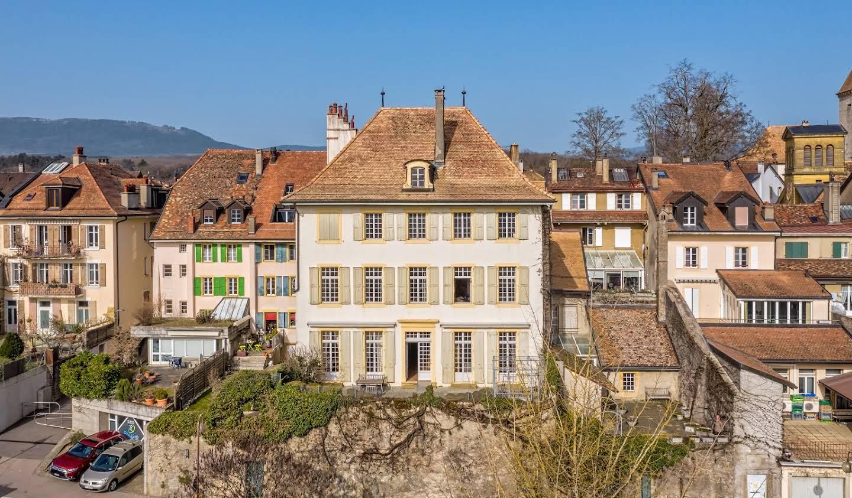 Maison avec jardin et terrasse La Sarraz