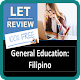 Download LET REVIEWER | General Education: Filipino For PC Windows and Mac