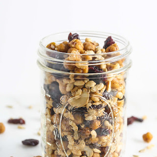 Roasted Chickpea Trail Mix Recipe