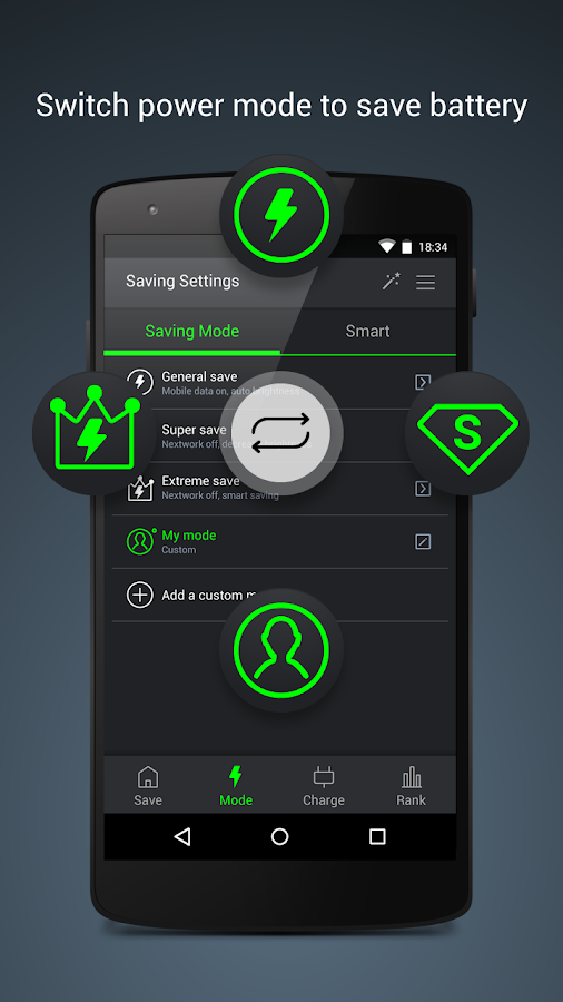 GO Battery Saver &Power Widget- screenshot