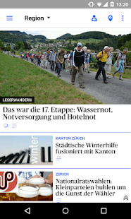 az Limmattaler Zeitung News- screenshot thumbnail