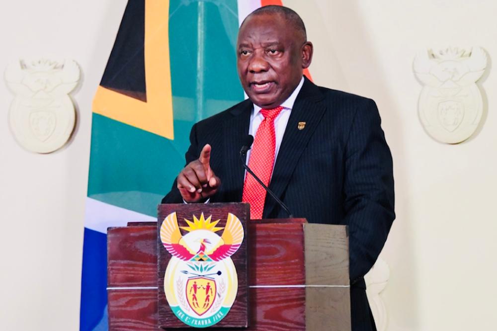 Ramaphosa keeps SA on lockdown level 4