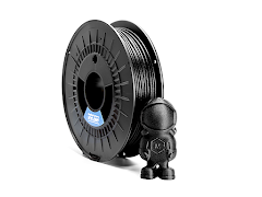 Black NylonG Glass Fiber Filament - 1.75mm (0.5kg)