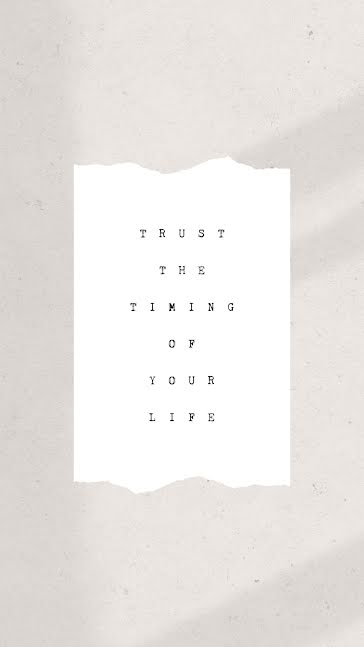 Trust the Timing - Facebook Story template