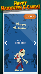 ?Happy Halloween Greeting Card Maker - náhled