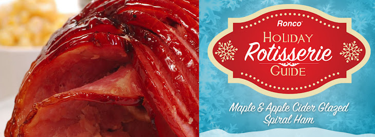 Maple & Apple Cider Glazed Spiral Ham