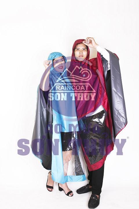 Sản phẩm áo mưa choàng K24 đẹp và siêu nhẹ