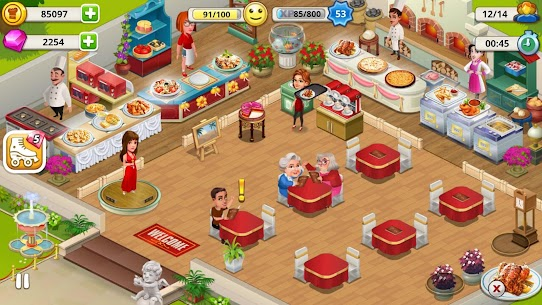 Cafe Tycoon MOD APK 4.3 [Unlimited Gems + Unlimited Coins] 6