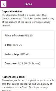 Santo Domingo Subway screenshot 7