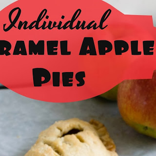 Individual Caramel Apple Pies