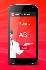 Blood Type scanner prank screenshot 3