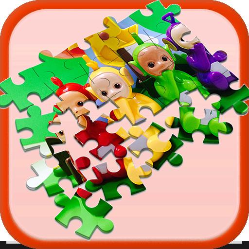 Jigsaw for Teletubies