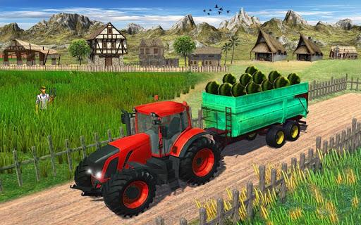 Heavy Duty Tractor Drive 3d: Real Farming Games  captures d'u00e9cran 2