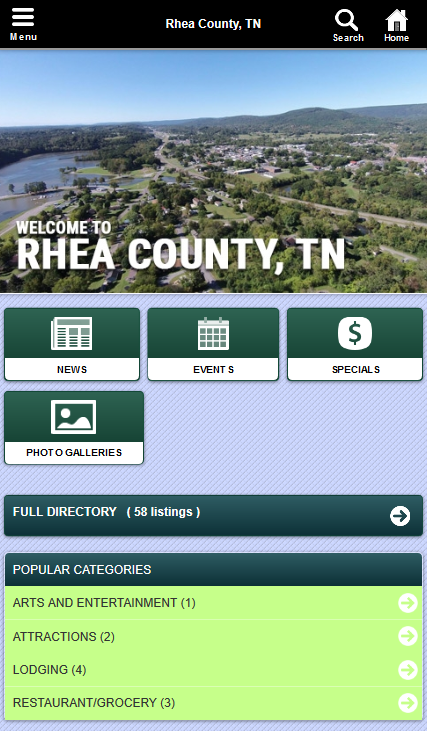 Rhea County, Tennessee- screenshot
