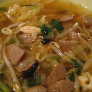Korean Seafood Soup.
