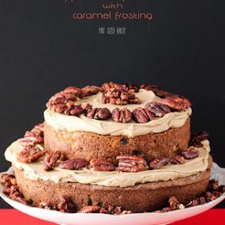 Apple and Caramel Spice Cake