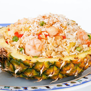 Pineapple, Lemongrass, and Coconut Fried Rice.