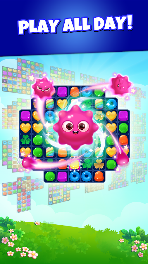Jelly Blast: Relaxing Match 3- screenshot