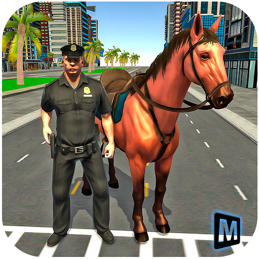 Mounted Horse Police Chase 3D