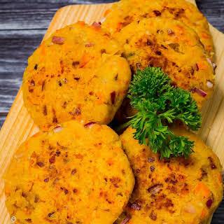 Salmon and Sweet Potato Fishcakes.